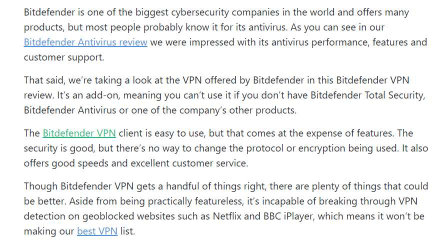 Bitdefender VPN Review intro