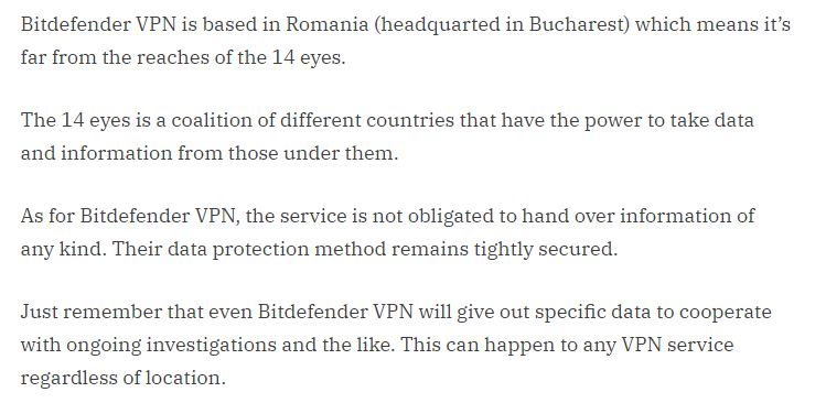 Romanian Jurisdiction, No Data Retention Law